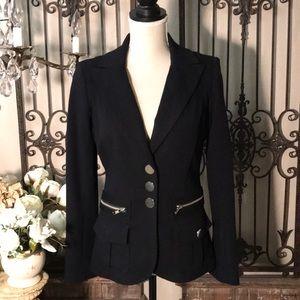 Cache minimalist contour collection fitted blazer